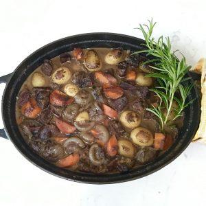 Dinner: Beef Bourguignon